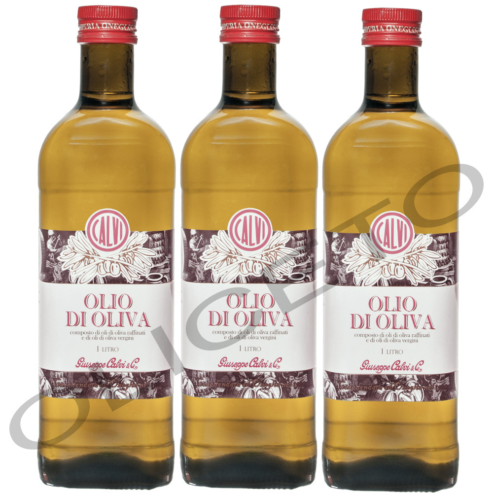 calvi olio di oliva 3 liter oliven l brat l oneglia l zum braten kochen ebay. Black Bedroom Furniture Sets. Home Design Ideas