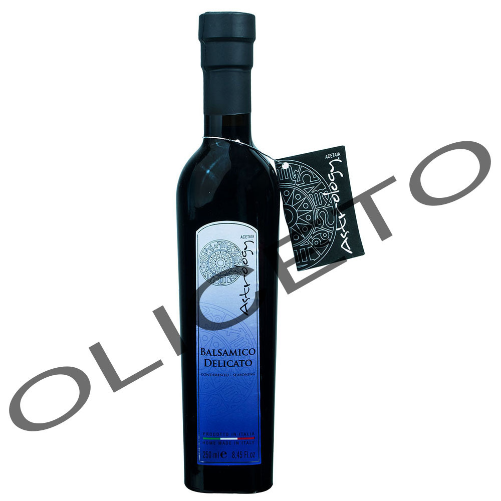Condimento Balsamico Delicato Purple Label 250 ml 3 Jahre - Acetaia Astrology