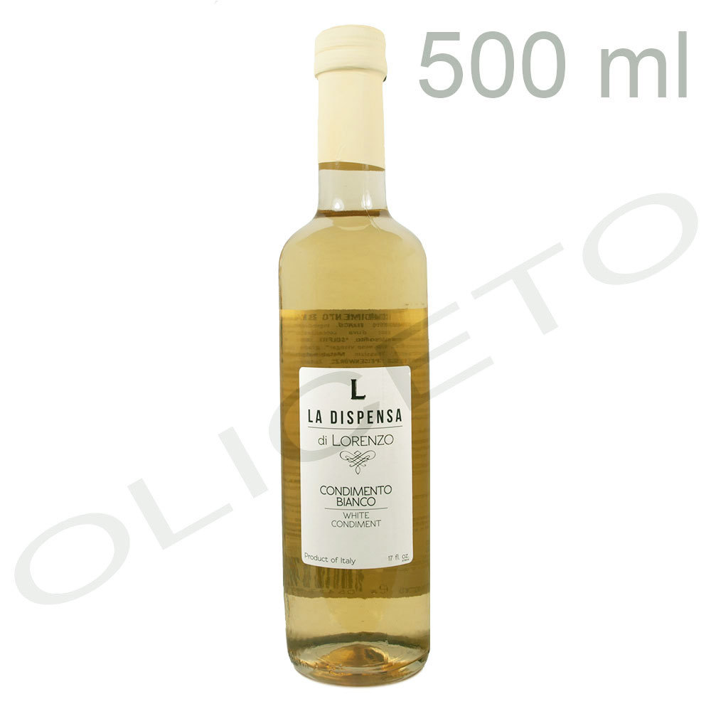 Weißer Condimento Bianco 500 ml - La Dispensa di Lorenzo