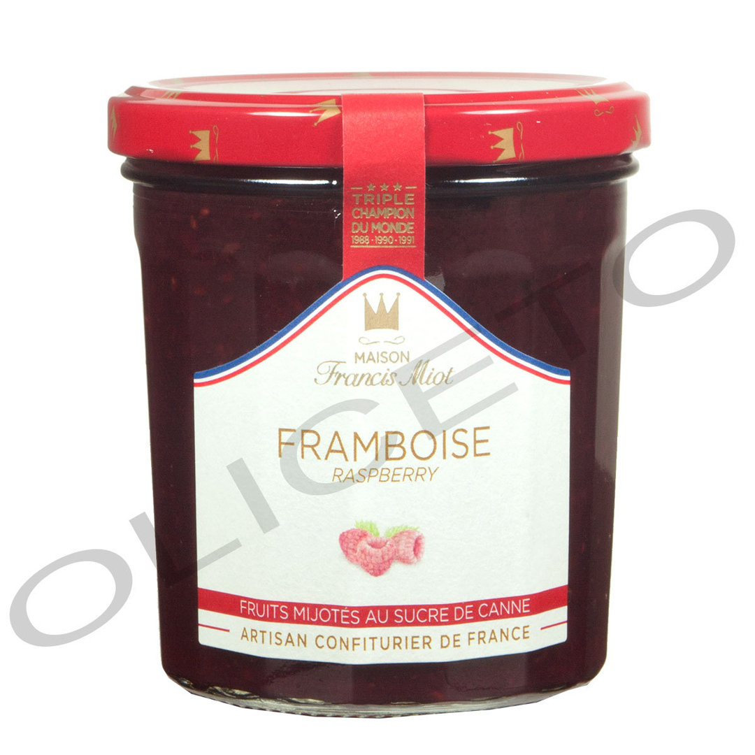 Himbeer Fruchtaufstrich Framboise 340 g - Francis Miot