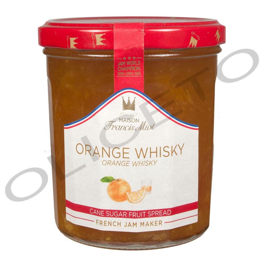 Orange-Whisky Fruchtaufstrich Orange-Whisky 340 g - Francis Miot