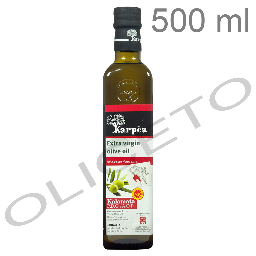 Kalamata PDO Koroneiki natives Olivenöl Extra 500 ml - Karpea