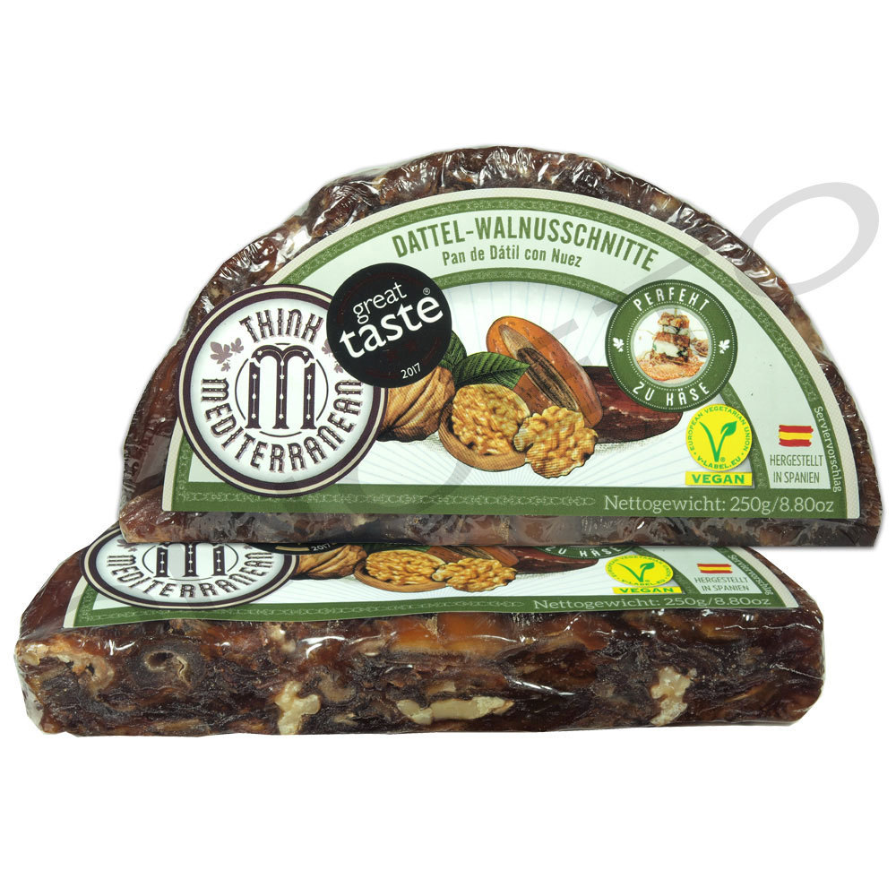 Dattelbrot mit Walnüssen - Pan de Datil 250 g - Think Mediterranean